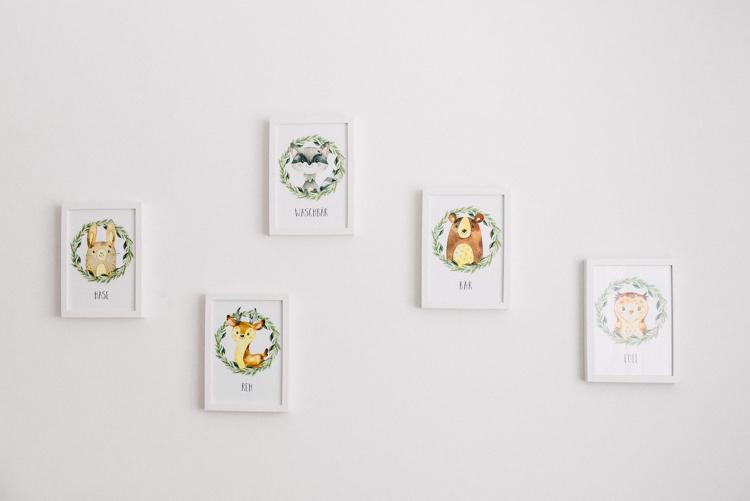 Wandbilder fürs Kinderzimmer
