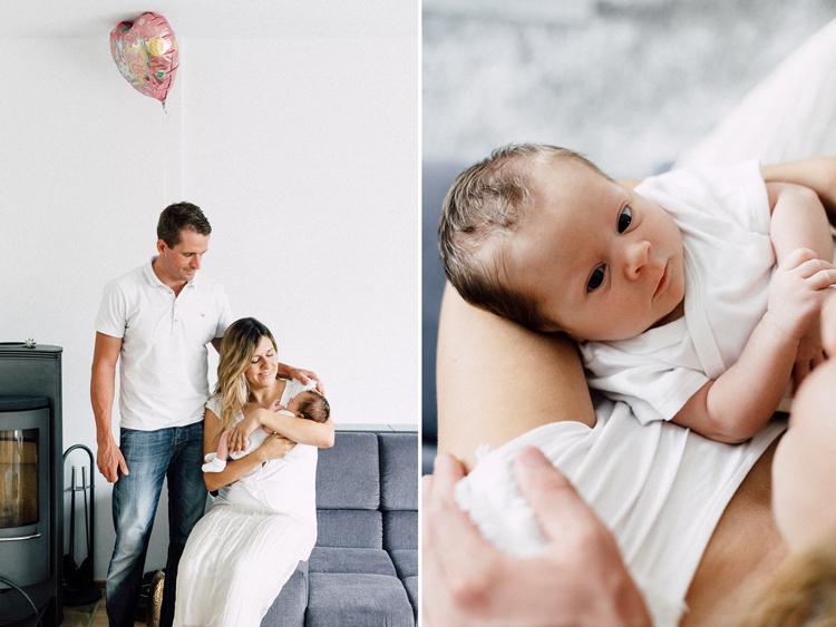 Familienreportage mit Baby